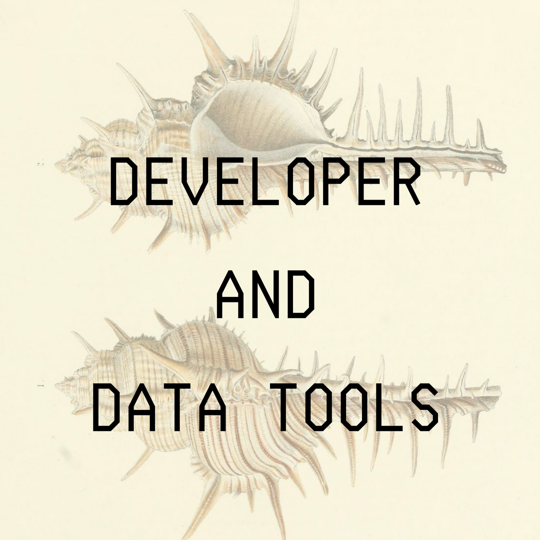 Developer and Data Tools