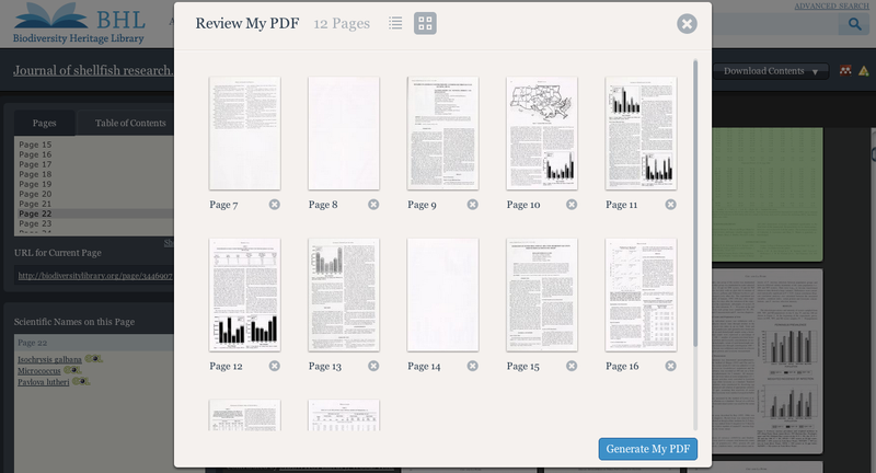 select pages to download